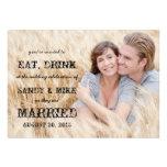 Coma el boda rústico casado bebida del país comunicados personales