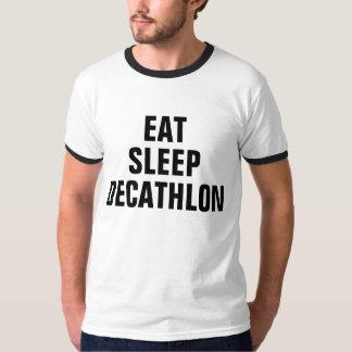 Coma el Decathlon del sueño Camiseta