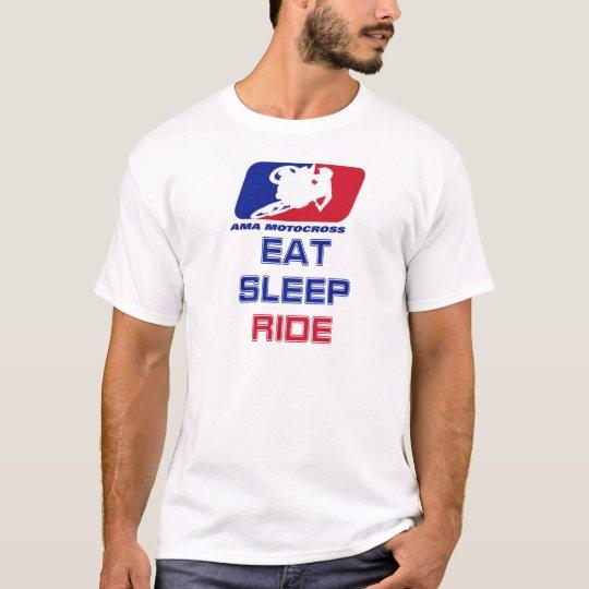 Coma el paseo del sueño camiseta