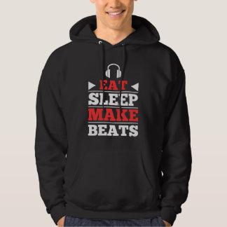 Coma el sueño hacen golpes pulóver con capucha