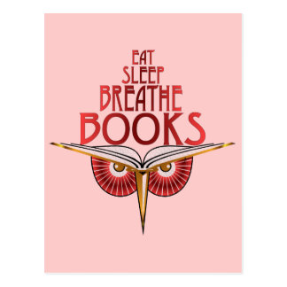 Coma el sueño respiran la postal de los libros