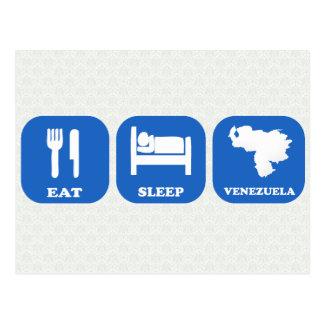Coma el sueño Venezuela Tarjetas Postales
