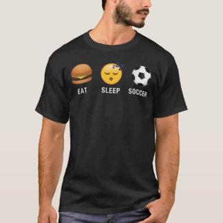 Coma la camisa divertida de los Emoticons de Emoji