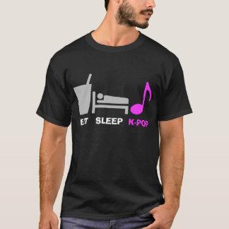 Coma la camiseta de Kpop del sueño (oscura)
