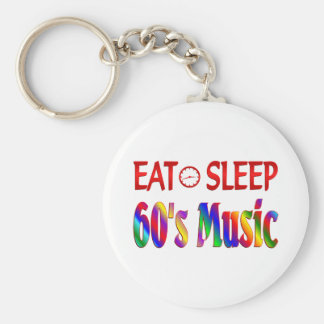 Coma la música de los años 60 del sueño llavero