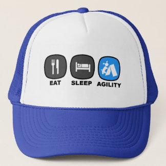 Coma. Sueño. Agilidad. Azul Gorra De Camionero