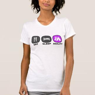 Coma. Sueño. Agilidad. Púrpura Camiseta