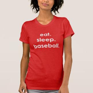 Coma. Sueño. Béisbol. Camiseta