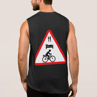 """""""Coma. Sueño. camisetas sin mangas ciclo del eBike"""