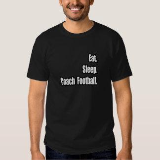Coma. Sueño. Fútbol del coche Camisetas