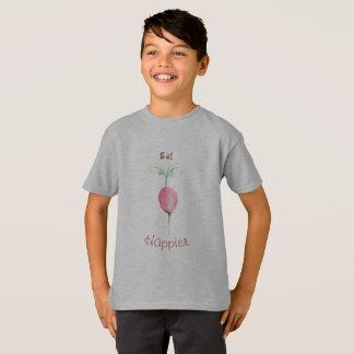Coma una camiseta más feliz