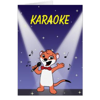 Comadreja de BG 2 Comadreja-mascota KARAOKE Felicitaciones