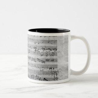 Comandante de G para el violín, el clavicordio y Taza De Dos Tonos