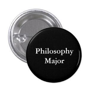 Comandante de la filosofía chapa redonda de 2,5 cm