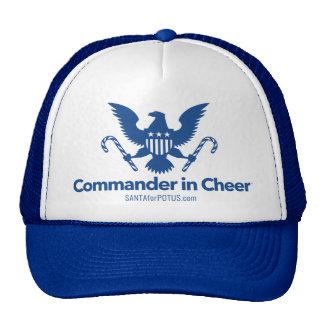 """""""Comandante en gorra del camionero de la alegría"""""""