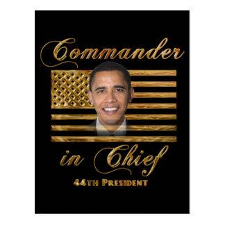 Comandante en jefe, Barack Obama Postal