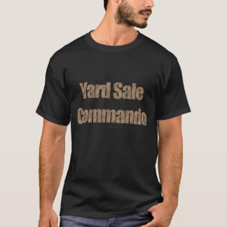 Comando #3 (texto del mercadillo casero de la camiseta