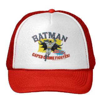 Combatiente del crimen de Batman Caped Gorras De Camionero