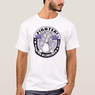 Combatiente del gato de Alzheimers Camiseta