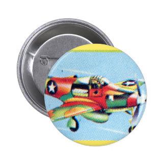 Combatiente retro F23-A de la guerra del aeroplano Pin