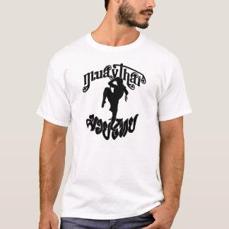 Combatiente tailandés de Muay Camiseta