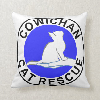 Combinado: gato del logotipo/del arco iris, cojín decorativo