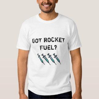 ¿Combustible de Rocket conseguido? Diseño de los Camiseta
