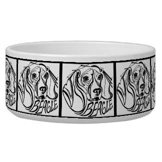 Comedero Doodle del perro del beagle