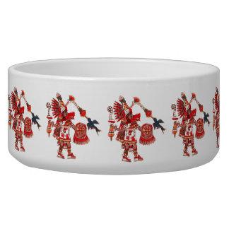 Comedero Guerrero azteca del shaman del baile