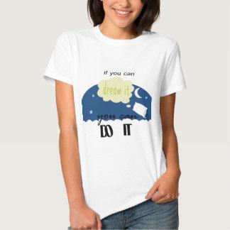 comenzado con un sueño camisetas