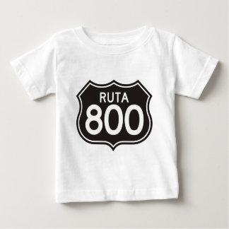 Comercialización del funcionario del Ruta 800 Camiseta De Bebé