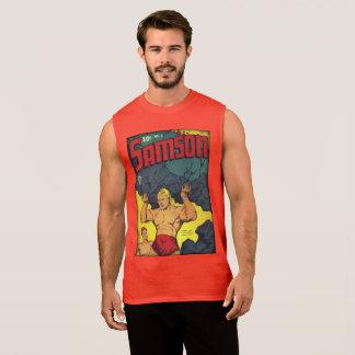Cómic de la época dorada del vintage camiseta sin mangas