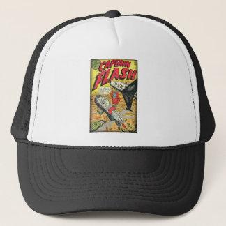 Cómic de la época dorada del vintage gorra de camionero