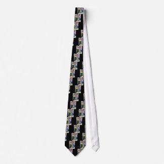 Cómic misteriosos corbatas personalizadas