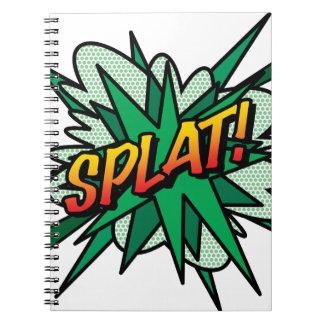 ¡ComicBook SPLAT! Libreta