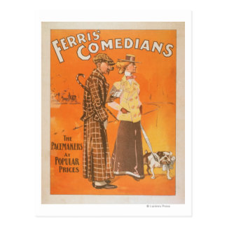 """Cómicos """"marcapasos de Ferris en los precios Tarjetas Postales"""