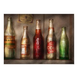 Comida - bebida - soda preferida invitación 12,7 x 17,8 cm