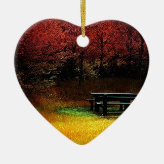 Comida campestre del otoño del bosque adornos