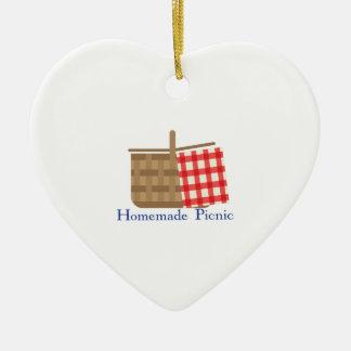 comida campestre del picnic_Homemade Ornato