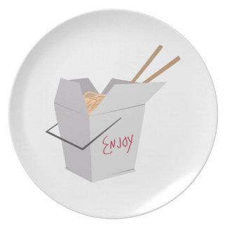 Comida china platos de comidas