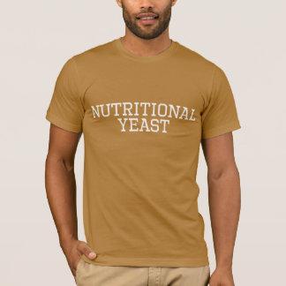 Comida colegial del vegano de la camisa de la