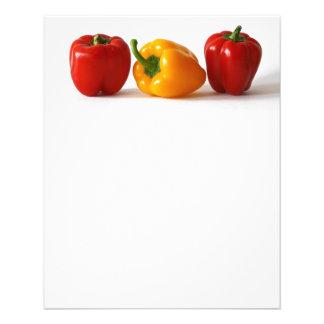 comida colorida de las verduras de la paprika