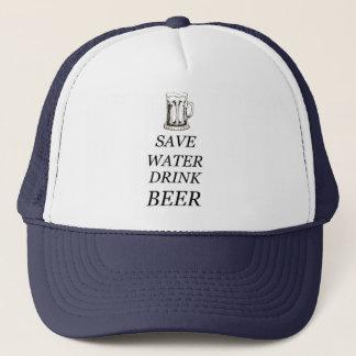 Comida de la bebida de la cerveza gorra de camionero