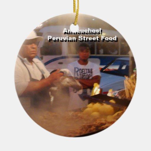 Comida de la calle en Perú - Anticuchos Ornamento De Reyes Magos