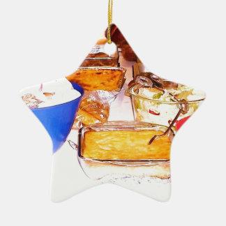 comida de la imagen de lynnfood.JPG para la cocina Adorno De Cerámica En Forma De Estrella