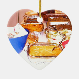 comida de la imagen de lynnfood.JPG para la cocina Adorno De Cerámica En Forma De Corazón