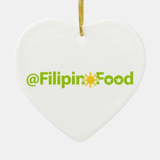 Comida filipina adornos de navidad