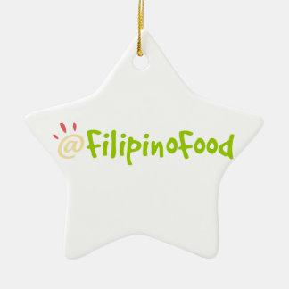 Comida filipina ornamentos de reyes