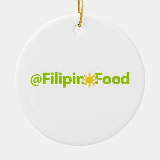 Comida filipina ornamento para reyes magos