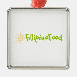 Comida filipina adornos